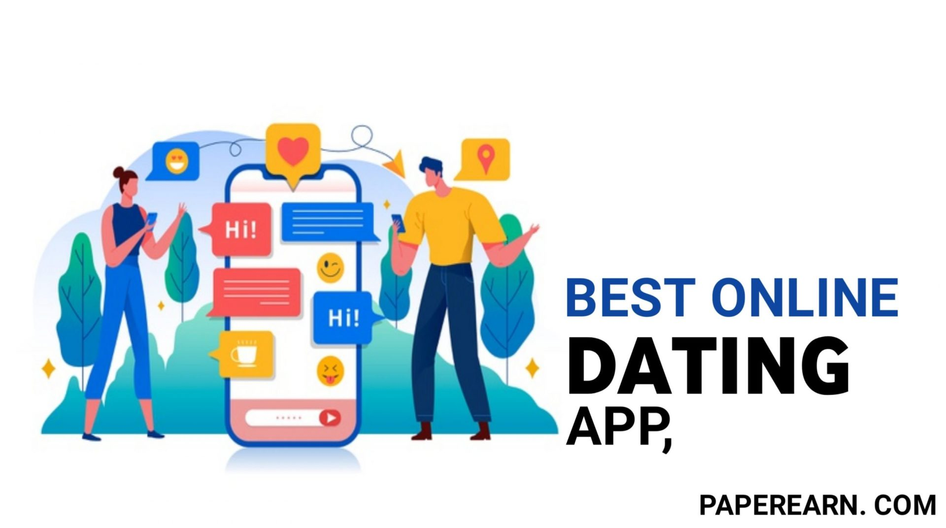 Best Online Dating App - paperearn.com