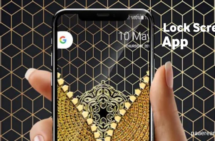 Gold Lock screen Best Android app