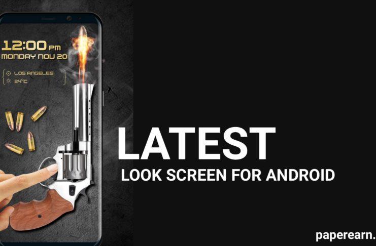 New Latest Lock screen