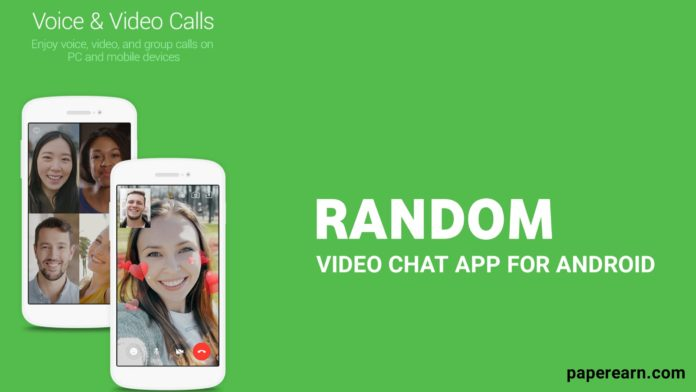 Random Video Chat app for Android.