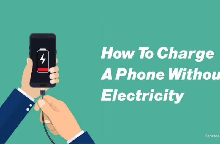 How to charge a Phone without electricity