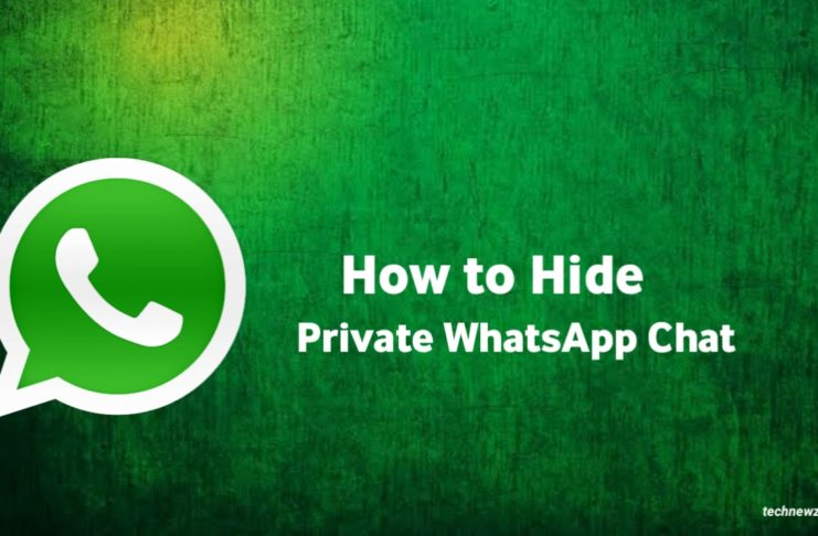 How to Hide WhatsApp Private Chat