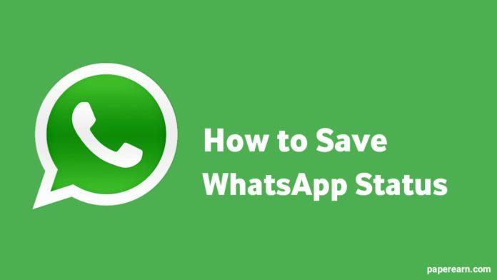 How to Save the WhatsApp Status