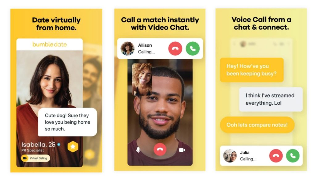 How to use bumble app
