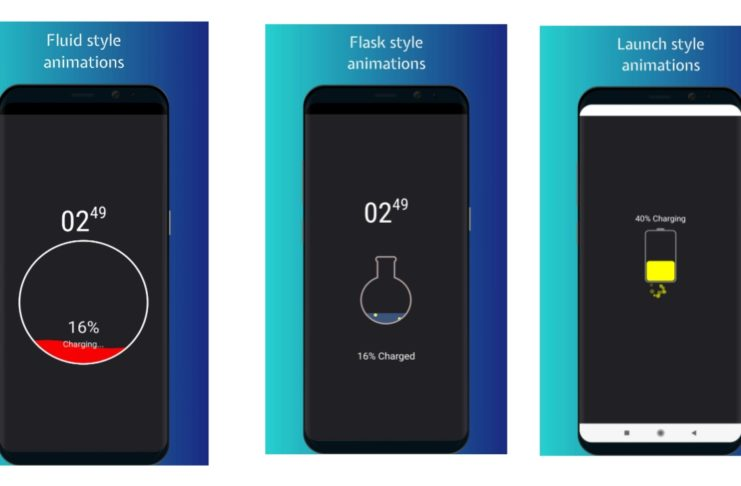 Battery Charging Animation Android App.