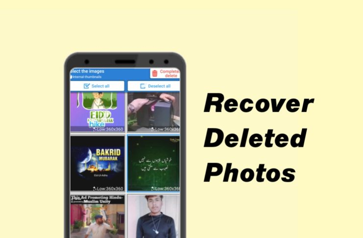 How To Recover Your Deleted Photo