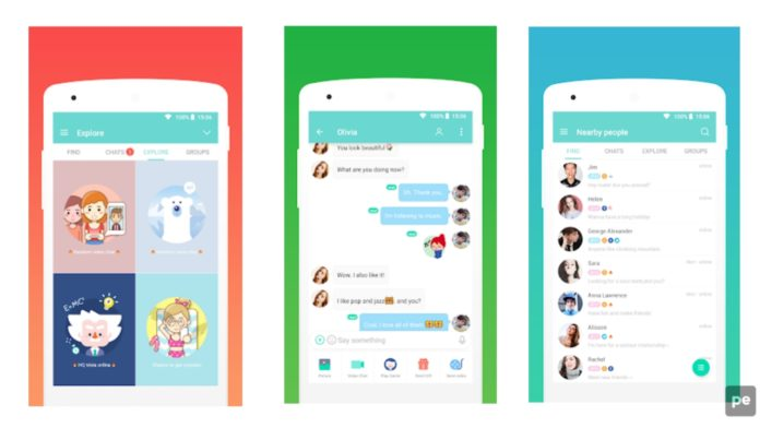 SayHi Chat, Meet New People Dating App.