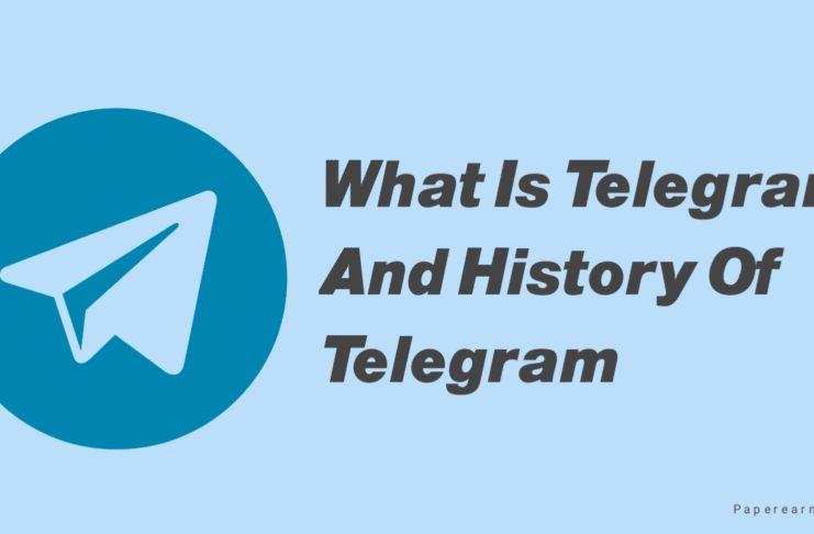 What Is Telegram And History Of Telegram