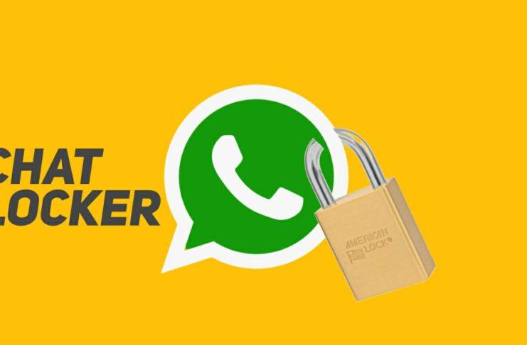 WhatsApp chat locker app