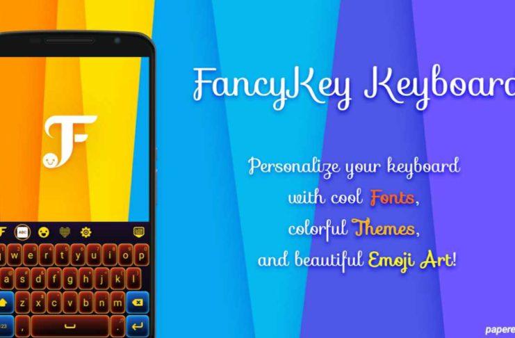 new fancy keyboard app