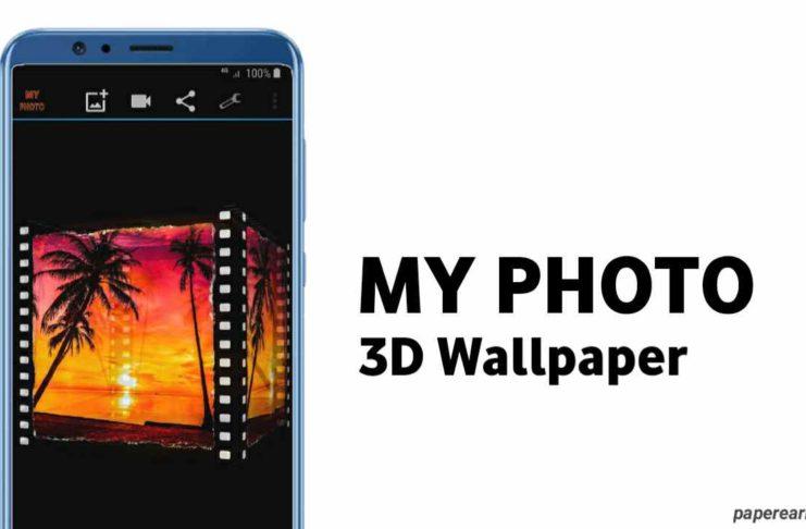 My photo 3D live wallpaper