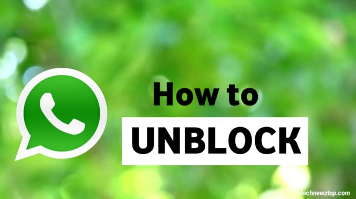 How to Unblock on WhatsApp 2020