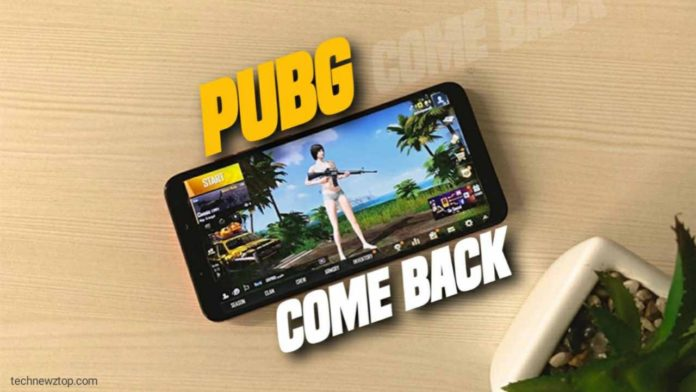 PUBG Game Coming Soon