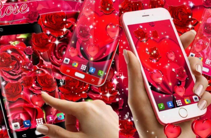 Red Rose Live Wallpaper