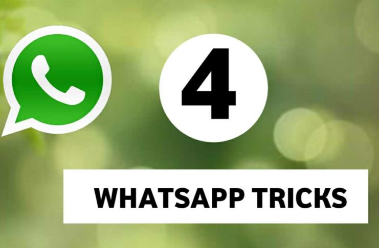Top 4 Best WhatsApp Tricks