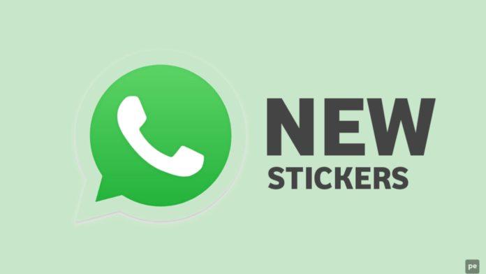 WhatsApp New Stickers