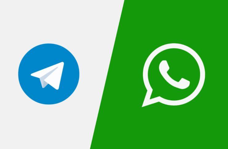WhatsApp telegram account