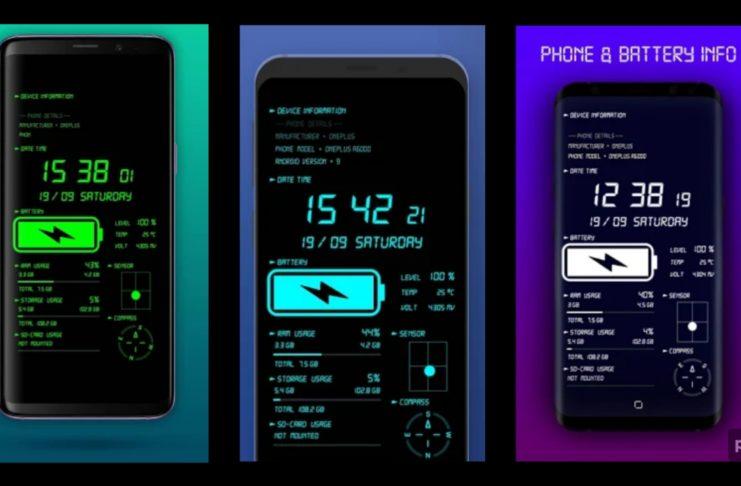 Phone Battery Live Wallpaper