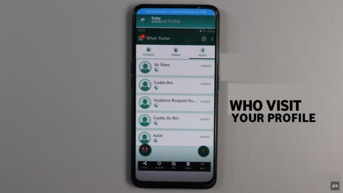 saw your WhatsApp profile