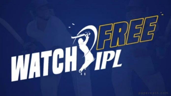 Watch IPL free