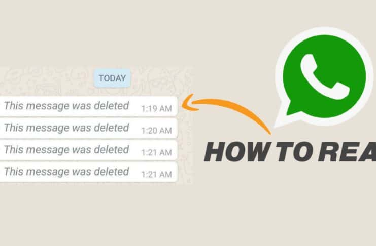 WhatsApp deleted messages Recovery