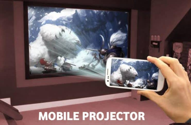 Watch Video On Projector