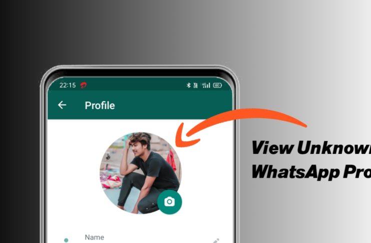 View unknown WhatsApp profile