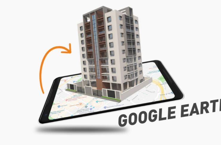 3D google earth app