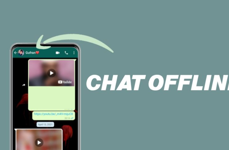 WhatsApp offline Chat