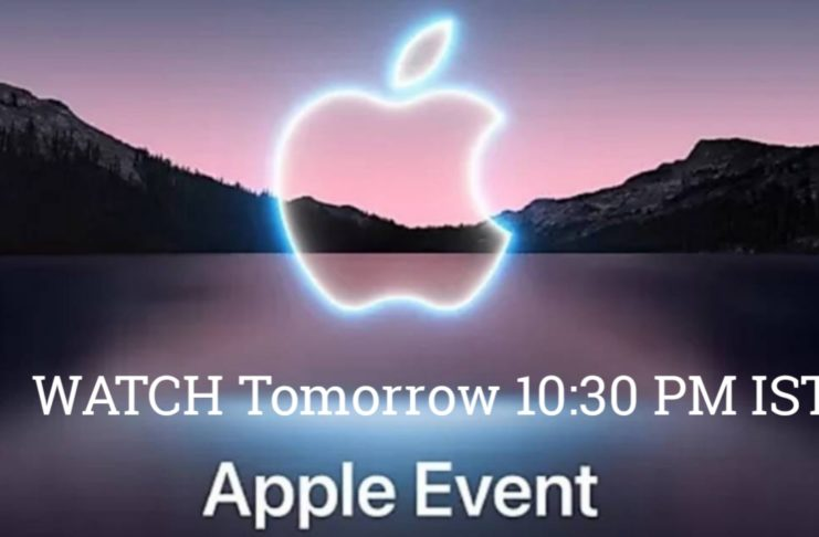 iPhone 13 launch event